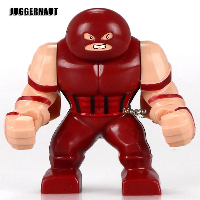 Juggernaut deadpool mini building toys figure go dp marvel comics x men leg