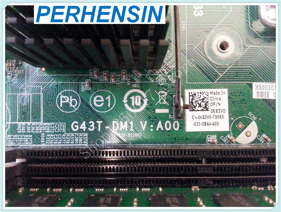 For Dell For Inspiron 560  Motherboard  K83V0 0K83V0  100% WORK PERFECTLY