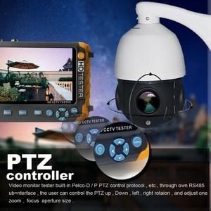 Image 5 - 5 Inch Tft Lcd Hd 5Mp Tvi Cctv Tester Ahd Cvi Cvbs Analog Security Camera Tester Monitor In One Vga Hdmi Input Iv8W