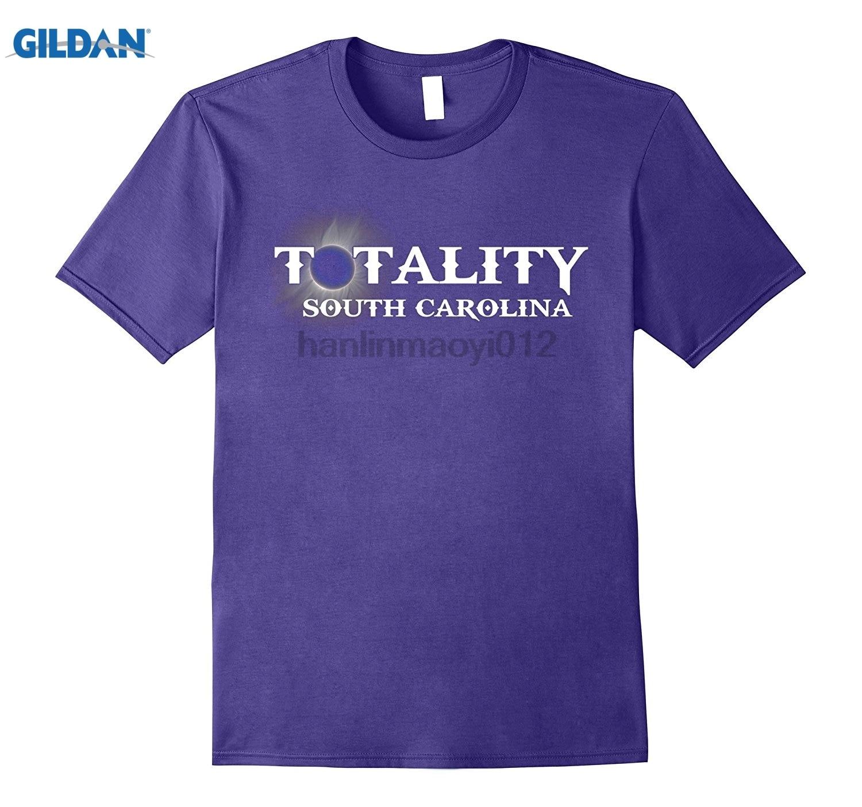 GILDAN Totality South Carolina T Shirt Solar Eclipse August 2017 Hot Womens T-shirt