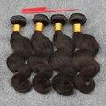 Только сегодня! 4 Пучки Бразильские Волосы Девственницы Дешевые Бразильские Тело Волна Волос Продукты Бразильские Волосы Переплетения Расслоения 100% Человеческих Волос
