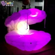 9.8ft большие надувные seashell/воздух Каури seashell с светодиодов/надувные seashell декоративные игрушки