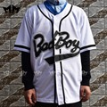 MM MASMIG Bad Boy Biggie Smalls 10 de Jersey Del Béisbol Blanco De Envío gratis Sml XL XXL XXXL