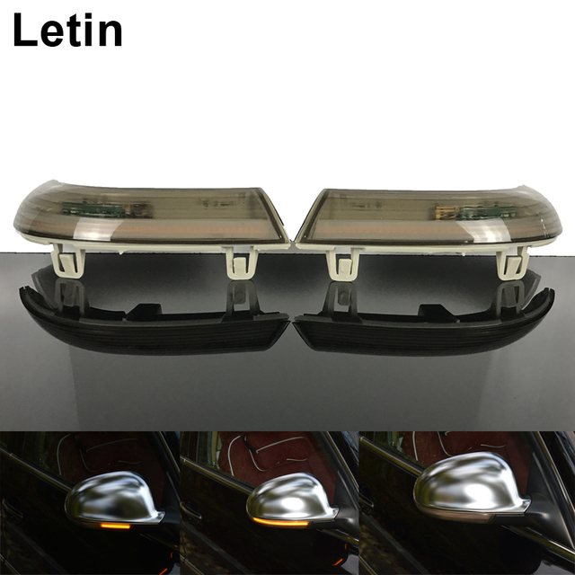 Letin Side Mirror Indicator Dynamic Sequential Flow Led Turn Signal