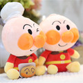 2016 New Bread Superman Plush Toys 20cm Anpanman Baikinman Dolls Super Cute Baby Kids Children Cartoon Gift High Quality