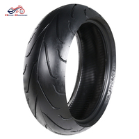 Refit Motorcycle Tires 190/50 17 Rubber Vacuum Rear Motorcycle Tubeless Tyres Wheel Rim Motorcycle Tire
