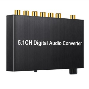 Image 3 - Prozor 192 khz 5.1ch dac 컨버터 볼륨 조절 디지털 아날로그 및 3.5mm 잭 오디오 컨버터 어댑터 (AC 3 용)