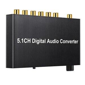 Image 3 - Prozor 192 khz 5.1ch dac conversor de controle de volume digital para analógico e 3.5mm jack conversor de áudio adaptador para AC 3