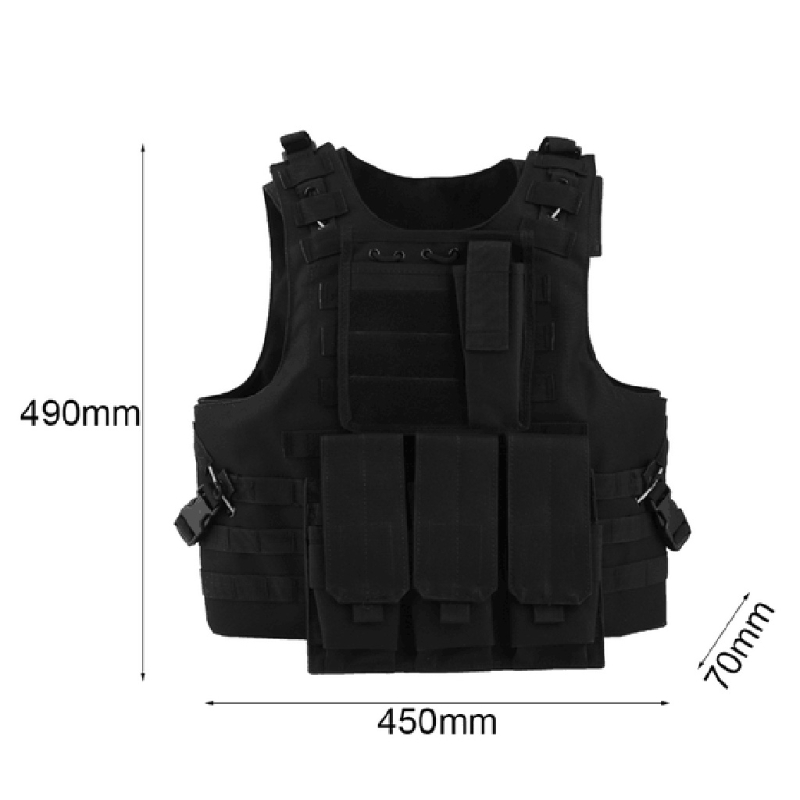 54x47cm Children Kids Black Tactical Vest Jacket Waistcoat Ammo Holder Lite Pistol Bullets Toy Clip Darts For Nerf Dropshipping Hiking Clothings