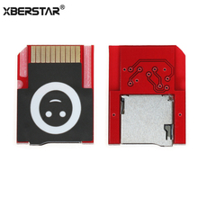XBERSTAR Micro SD Card Adapter SD2Vita for PS Vita 1000 2000 New Model Push to Eject for PSV For PSVita Sport Card