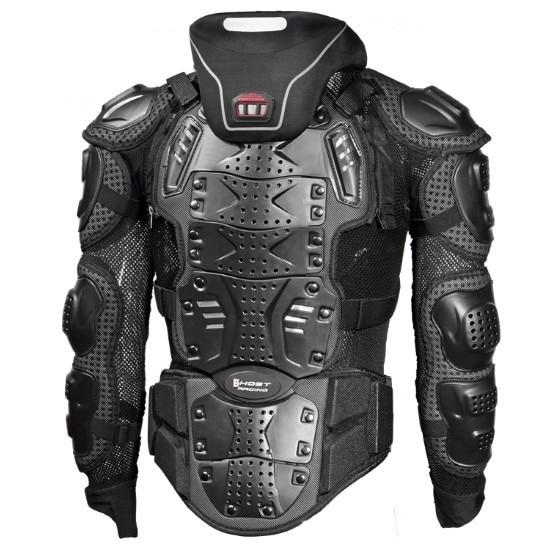 Armure de protection de coude et de poitrine et le cou pour moto scooter 1