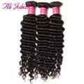 Hot Sale Peruvian Deep Wave Virgin Hair Bundles 100G Peruvian Deep Curly Virgin Hair Weave Unprocessed Virgin Peruvian Hair