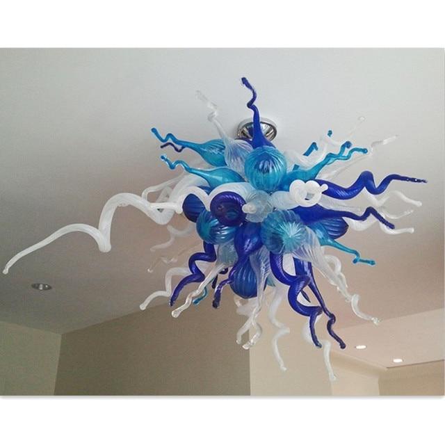 2017 nuovo design in vetro di murano lampadari di colore lampadario ...