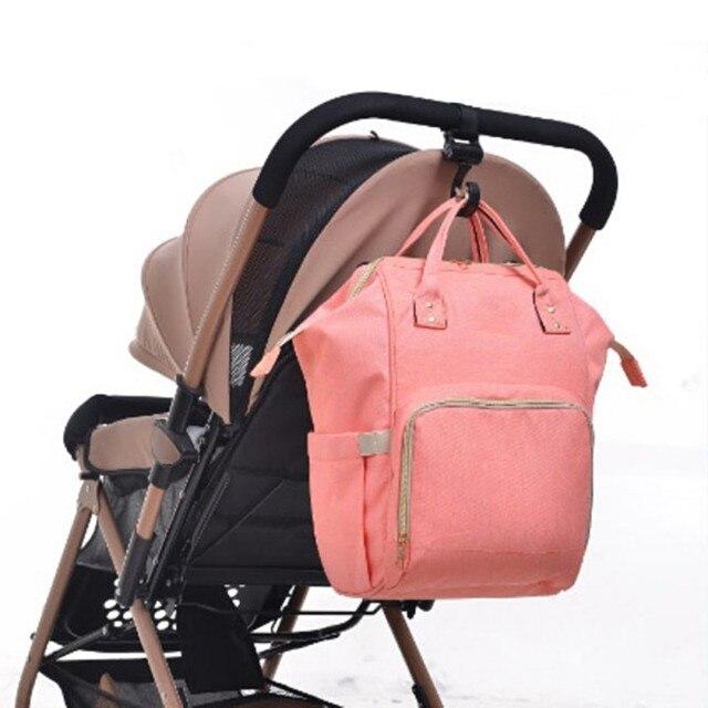 2pcs/ Baby Hanger Baby Bag Stroller Hooks Pram Rotate 360 Degree Cart Hook Accessories 3