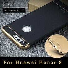 Honor 8 Чехол iPaky Роскошные брендовые Сельма Huawei Honor 8 чехол 3 в 1 Жесткий PC защитный чехол для Huawei Honor 8 чехлы 5.2″