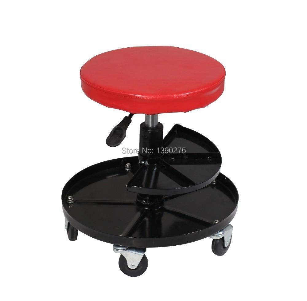 Astounding Us 60 9 Air Mechanics Adjustable Workshop Stool Roller Seat On Aliexpress Ibusinesslaw Wood Chair Design Ideas Ibusinesslaworg