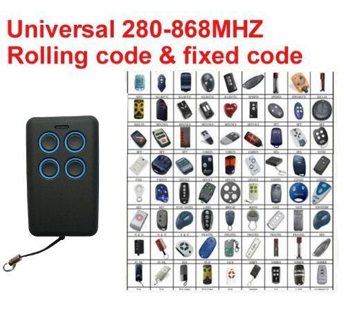 2017 nuovo frequenza di scansione Automatica Universale telecomando duplicatore Multi copia frequenza 280-868 mhz