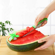 Windmill Shape Watermelon Cutter Stainless Steel Tool for Cutting Fruit