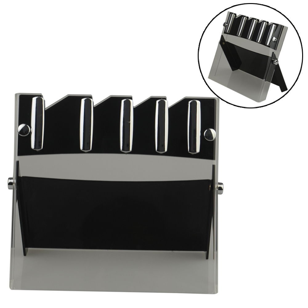 Kitchen Accessories Brands: XYJ Brand High Quality Knife Block Stainless Steel Knife