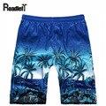 Masculino bermuda masculina estilo Havaí calções de praia shorts Men board shorts de treino Dos Homens, 5 cores
