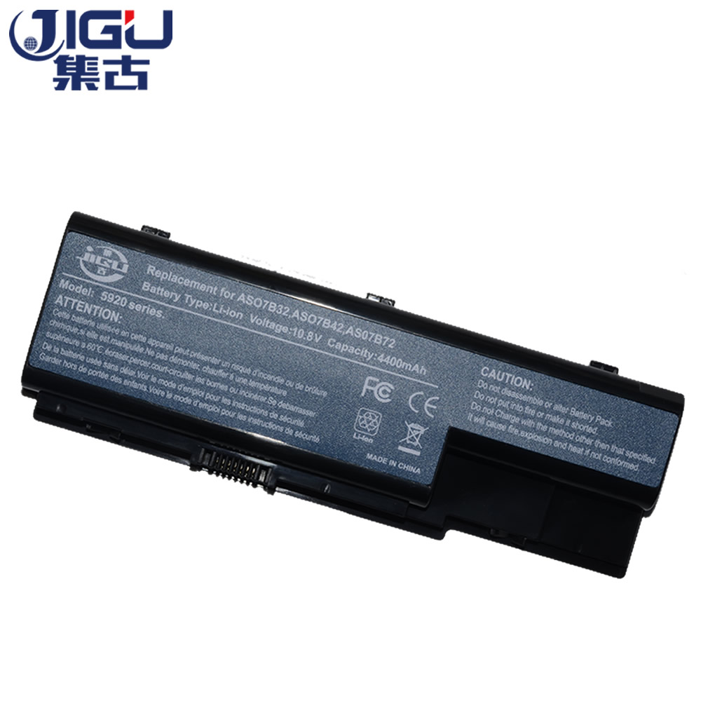 JIGU Laptop Battery AK.006BT.019 AS07B31 AS07B41 AS07B51 AS07B61 AS07B71 LC.BTP00.008 LC.BTP00.014 For Acer For Aspire 5220 5235 aspire oa 019 black