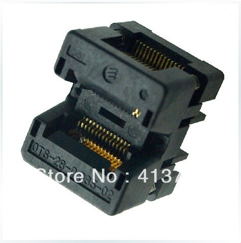 Import SSOP28 burning OTS-28-0.635-02 IC test socket adapter conversion superpro5000 5004 private cx5004 burning fbga64 adapter test