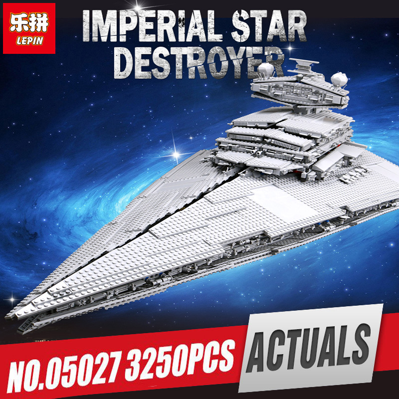 LEPIN 05027 05028 Toys The 10030 10221 Star Destroyer Wars Set Model Building Blocks Bricks Kids Legoinglys Toys Christmas Gift цены