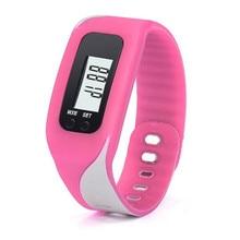 Relogio feminino Women's watches Digital LCD 2017 Duable Pedometer Run Step Walking Distance Calorie Counter Watch Bracelet Y19`