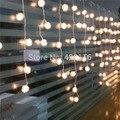 3.5 m RGB Luces Navidad Feriado LEVOU Cortina Decoração Do Casamento Do Floco De Neve Luzes Da Corda Tira 100 SMD 16 Edelweiss LEVOU iluminação