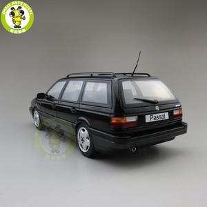 Image 2 - 1/18 KK Passat B3 Vr6 Variant 1988 Diecast Model Car Toys Boy Girl Gifts Nothing can be opened