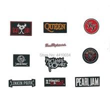 Foo fightors MY CHEMICAL Pearl jam Романтика королева Linkin Park вышитая музыкальная группа патч футболка Передача Рок Панк значок