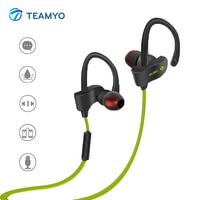 Teamyo Bluetooth Écouteur Sans Fil Casque Sport gaming Headset Stéréo Bouchons D'oreille avec Microphone pour iPhone Samsung Xiaomi
