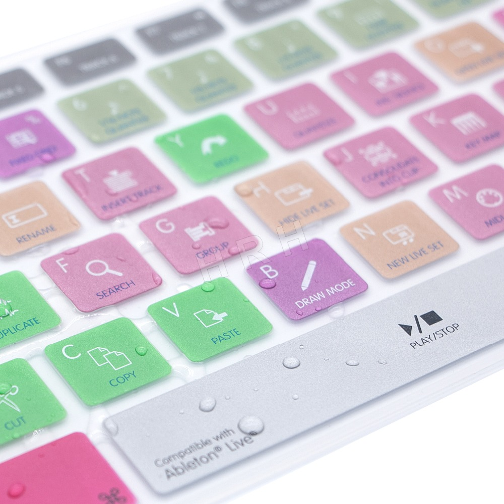 b6f801c391b Ableton Live Hot keys Design Keyboard Cover Skin For Apple Keyboard with Numeric  Keypad Wired USB for iMac G6 Desktop PC Wired-in Keyboard Covers from ...