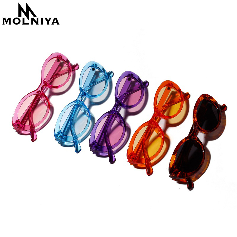 MOLNIYA Small Oval Sunglasses Ms. 2018 Designer High Quality Cool - Kledingaccessoires - Foto 5