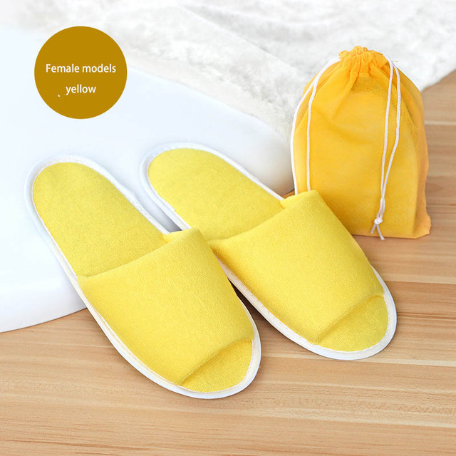 Hotel Disposable Folding Slippers