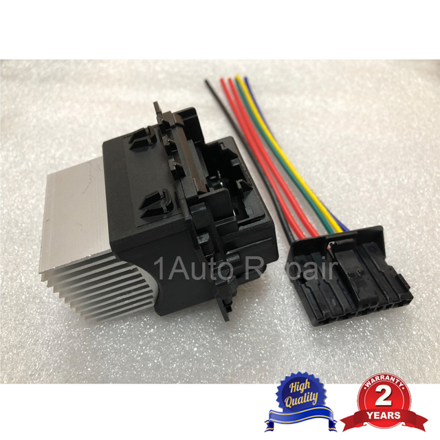 aa for citroen c1 c3 picasso c4 ds4 heater blower motor fan resistor wire  harness loom connector 515038 7701209850