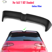 Golf 7 MK7 Carbon Fiber Rear Spoiler for VW GOLF 7 VII MK7 2014 2015 2016 Car Styling Auto Racing Car Tail Roof Lip Wing