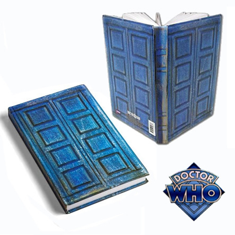 Doctor Who Tardis Journal Book Toys Doctor Who Notebook River Song's Travel Journal Collectors Action Figure Toy Holder Souvenir