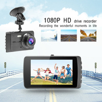Dual Lens Car Dash Cam DVR driving recorder Camera Car USB monitoring HD 1080P reversing image Car recorder reversing camera usb