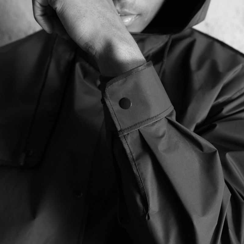 2019 стильные eva черный дождевик для взрослого шаблон открытый мужской длинный стиль пончо для пешего туризма окружающей среды Мужская Таль дождевик