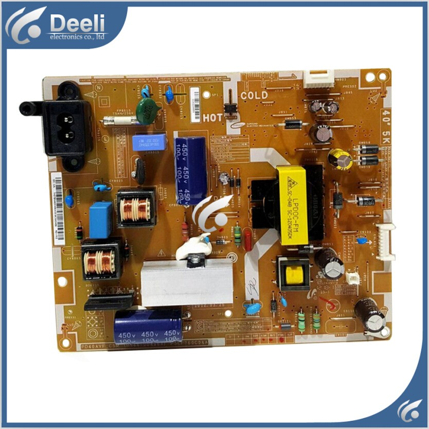 good working used board for power supply board BN44-00496A PSLF760C04A board 95% new used board good working original for power supply board la40b530p7r la40b550k1f bn44 00264a h40f1 9ss board