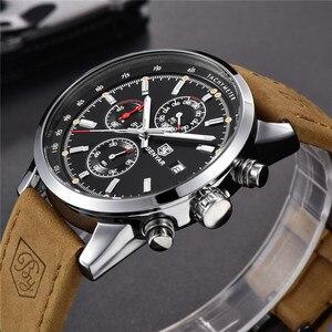 Image 5 - 2019 BENYAR montre hommes haut marque de luxe Quartz affaires hommes montres mode militaire chronographe sport horloge Relogio Masculino
