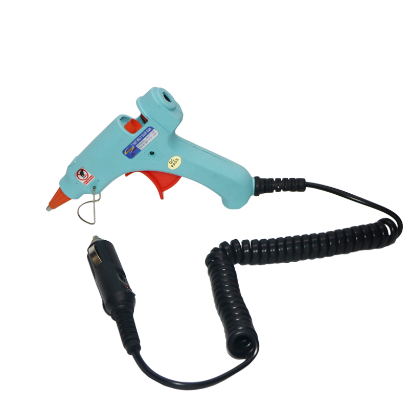 1x Universal 100W 12V Car Electric Heating Hot Melt Glue Gun Trigger Repair Tool