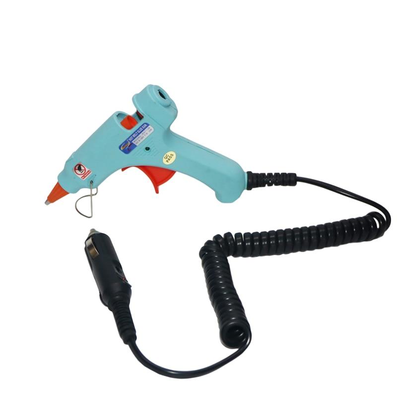 12 V 20W autosigaretisüütaja kuumvaltsüsteemega liimipüstol 7mm - Elektrilised tööriistad - Foto 1