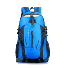 Купить с кэшбэком Climbing Backpacks Men Travel Bags Waterproof Hiking Outdoor Camping Backpack Sport Bag Men Bag  tactical Women Durable Rucksack