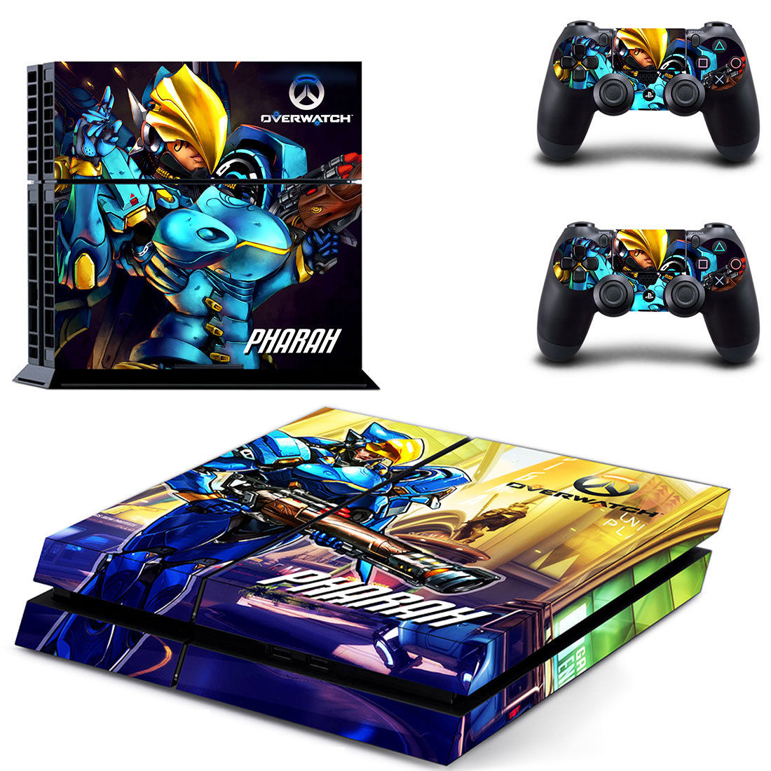 Google themes overwatch - Latest Games Themes Overwatch Pharah Sticker Cover For Sony Ps4 Playstation 4 Console 2 Controller