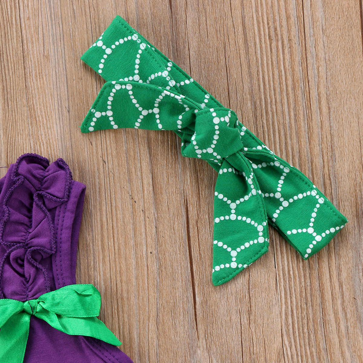 Sevimli Yürümeye Başlayan Çocuk Bebek Kız pamuklu üst giyim Mektup T-shirt Mermaid Şort Giysileri Yaz Kıyafet Seti Rahat Kısa Kollu Giyim