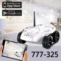 Wi Fi RC Мини Танк 777 325 с камерой видео в режиме реального времени телефон дистанционного управления игрушечный автомобиль модели RC игрушка Лу