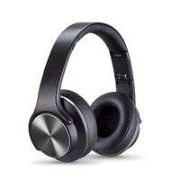 Original SODO MH5 NFC 2in1 Twist Out Speaker Bluetooth Headphone With FM Radio AUX TF Card