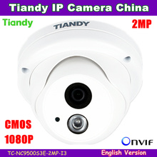 Original Tiandy IP Camera NC9500S3E-2MP-I3 1080P 2MP Waterproof Outdoor CCTV Camera IR 20-30M Support POE and English version